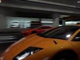 Gran Turismo 5 - Lamborghini Aventador LP700-4 vs Lamborghini Murcielago LP670-4 SV - Drag Race