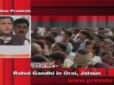 Congress Leader Rahul Gandhi in Orai, Jalaun (U.P) Part 10