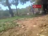 فري برس   حمص  حي الخالدية   اطلاق نار كثيف 16 9 2011