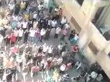 فري برس   حمص وادي العرب جمعة أحرار الجيش الشعب يريد اعدام الرئيس 14 10 2011