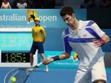 Grand Slam Tennis 2 (PS3) - L'Open d'Australie