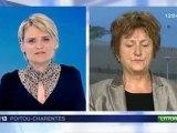 Suzanne Tallard au 19/20 Région Poitou-Charentes sur France 3 - 18 janvier 2012