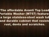 Avanti Top Load Portable Washer - 12 Lb. Capacity