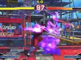 Super Street Fighter IV 3D Edition gameplay video
