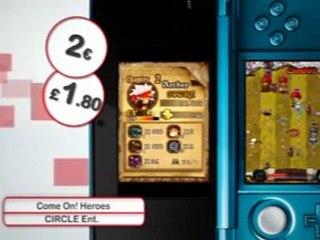 Nintendo, les téléchargements de la semaine 19/01 de