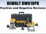 DEWALT DW618PK Plunge/Fixed Wood Router Kit Review