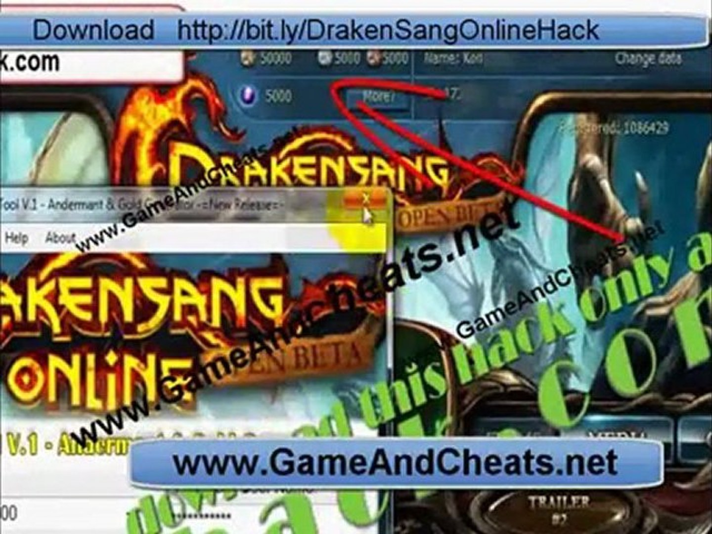 Update DrakenSang Online Hack Free Hack January 2012