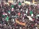 فري برس   مدينة ادلب اغنية الشعب يريد تحرير البلاد 30 12 2011