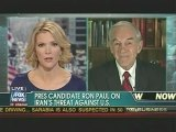 Ron Paul Interview With Megyn Kelly On Iran & South Carolina 1/13/12