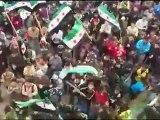 فري برس   حوران    طفس    مظاهرة رأس السنة الميلادية 1 1 2012 ج1