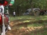 Entrainement de motocross