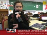 Reportage sur Oriana avec Grand Lille TV (Extrait du journal de 20h) - Concours européen GALILEO