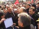 Cumhurbaşkanı Abdullah Gül, Niğde'nin Bor İlçesini Ziyareti
