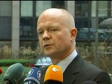 William Hague demands tough Iran sanctions