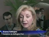 """Anne Sinclair et Arianna Huffington ont officiellement lancé le """"Huffington Post"""" français"""