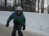 longboard: freeriding the snow