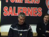 C.I.S POMPIERS SALERNES Voeux 2012 Remise de galons Ghislain TOUSSAN Jamel BOUALEM Mathieu PAGEAUD Jérome DEBAUD Virginie GARCIN Remise de casques Mel GUIDEZ Rémy ROUVIER Rémi TINTANE Julien ONOFARO Pompiers Salernes Var 83 Provence