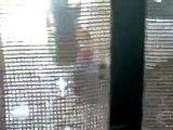 فري برس   درعا خربة غزالة انتشار قوات الأمن القمعية في المدينة 5 10 2011