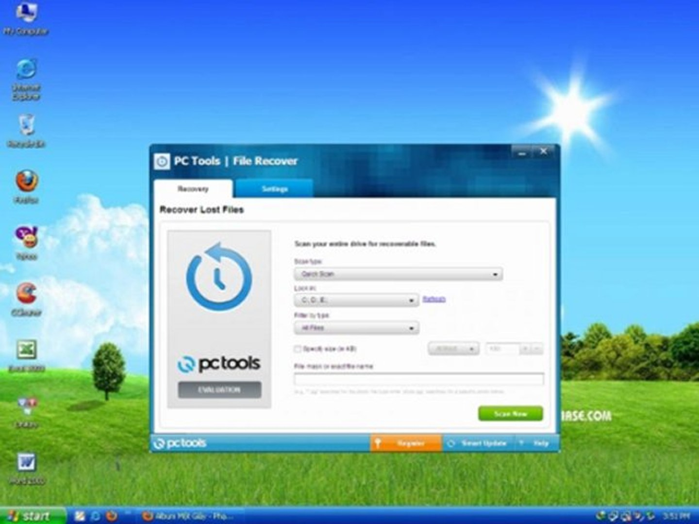 RECOVER 9.0.1.221 FILE PC TOOLS TÉLÉCHARGER