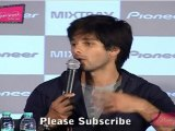 "Shahid Kapoor Speaks About His Upcoming Movies @ Launch Of ""Pioneer Mixtrax"""