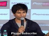 "Shahid Kapoor Speaks About Chikni Chameli @ Launch Of ""Pioneer Mixtrax"""