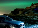 Northern Lights visible over northern England and Scotland