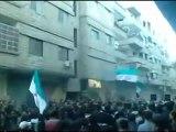 فري برس   غوطة دمشق سقبا أحرار سقبا يفدون أحرار سوريا 29 12 2011