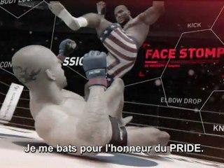 Trailer démo de UFC Undisputed 3