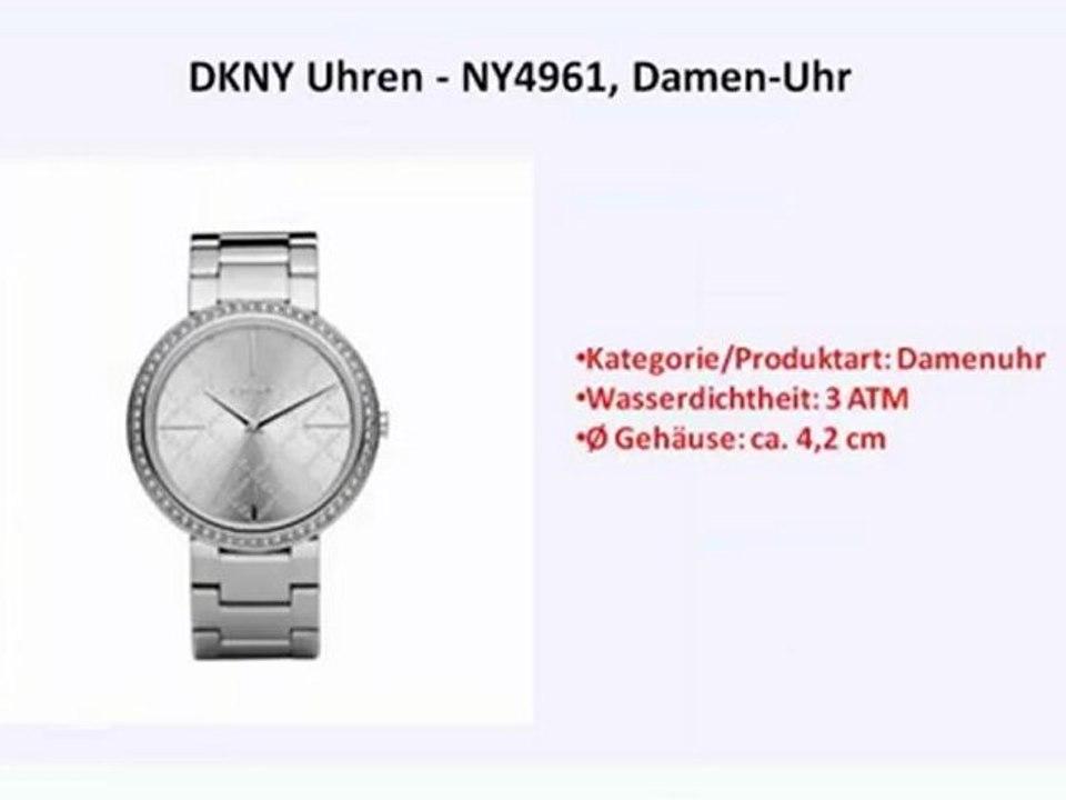 10 Kaufen Besten Uhren Dkny Damen Zum PiXOZku