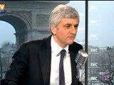 Hervé Morin sur BFMTV assure qu'il votera Nicolas Sarkozy au second tour