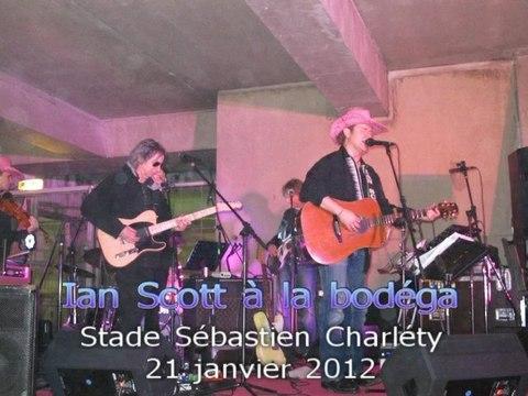 21 janvier 2012 Ian Scott à la bodéga