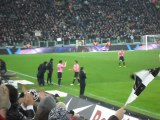 Sostituzione Del Piero Standing Ovation JUVENTUS - Roma 3-0 TIM CUP 24-01-12