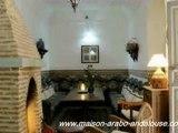 """Maison Arabo-Andalouse"".Riad-Hotel, Visit Marrakech, Maroc."