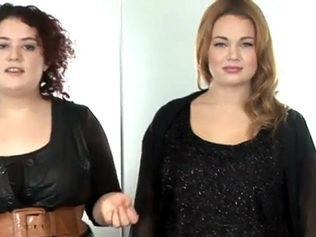 How To Wear Plus Size Evening Wear. http://bit.ly/2zwnQ1x