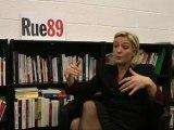 Marine Le Pen face aux riverains (25/01/2012) - L'aide médicale aux étrangers