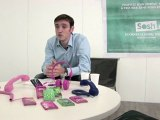 Matthieu Tanguy, directeur marketing de Sosh présente la nouvelle gamme de forfaits.