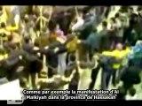 Récapitulatif manifestations anti-bachar en Syrie - Semaine du 06/01/2012 - sous-titres français