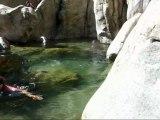 Balade aquatique du Fiumiceddi (Bavedda - Corse)