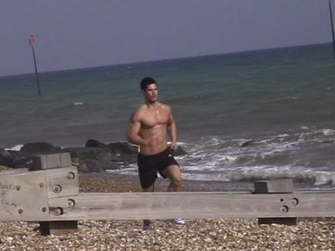 AWESOME ABS CIRCUIT ON THE BEACH