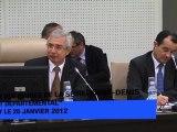Réunion avec les maires du département de la Seine-Saint-Denis sur le budget départemental