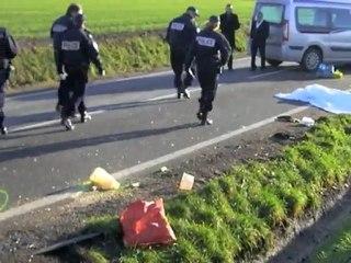 Accident mortel à Auberchicourt