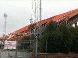 Valenciennes. L'adieu à la tribune Pouille de Nungesser