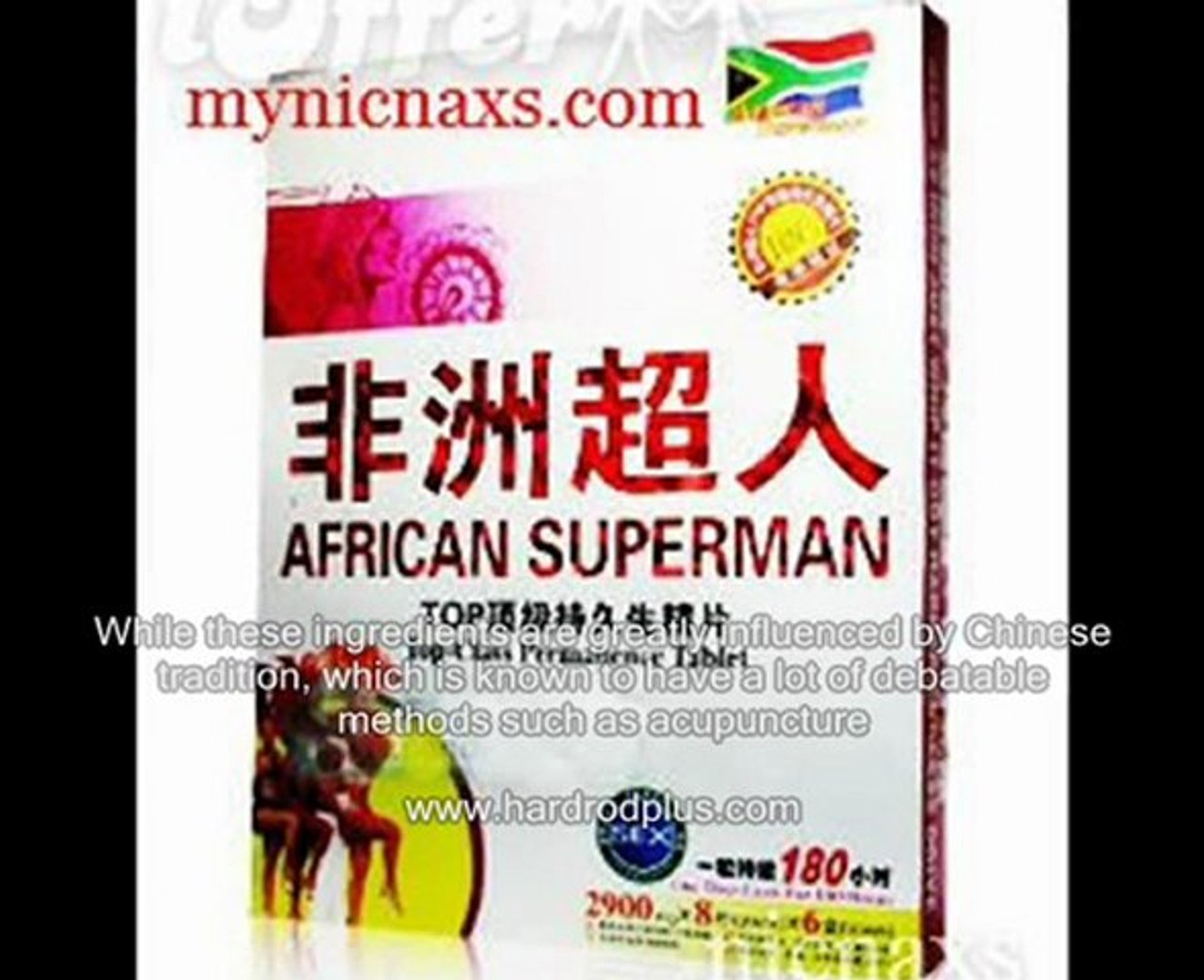African Superman?