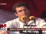 Congress General Secretary Rahul Gandhi campaigns for U.P assembly polls in 2007