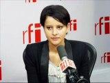Najat Belkacem invitée de RFI