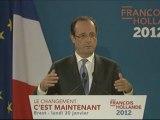 François Hollande sur la Banque publique d'investissement