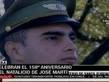 Cuba conmemora 159 años del natalicio de José Martí