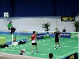 Aulnay-sous-Bois : Top 12 Badminton CBAB Aulnay - Mulhouse 28 janvier 2012 (1)