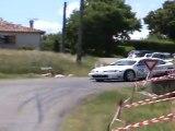 Christophe Monzie Mégane Kit Car Rallye Chasselas 2011