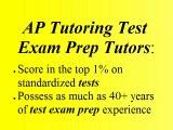 San Rafael AP Exam Test Prep Tutor San Rafael